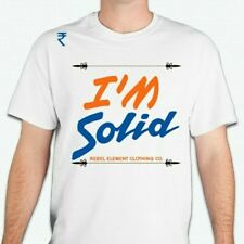 "Rebel Element Clothing co. ""I'm Solid"" mens t-shirt"
