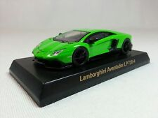 1:64 Lamborghini Aventador LP720-4 Green OEM by Kyosho