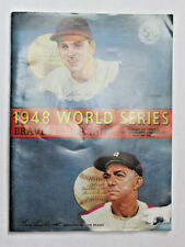 1948 World Series Program Cleveland  UNSCORED AND VERY CLEAN!