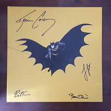 SIGNED x4 Batman The Animated Series Series Vinyl Mondo Bruce Timm Paul Dini NEW