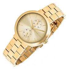 New Michael Kors MK6408 Women's Gold-Tone Stainless Steel Bracelet 39mm Watch