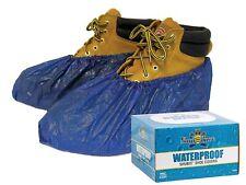 Shubee, C-Sb-Sc-Wp-Db, Waterproof (40-Pair/Box) Shoe Covers, Dark Blue