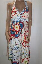 TORRID Brand Blue Red Floral Print Halter Neck A Line Dress Size 18 BNWT #LIN