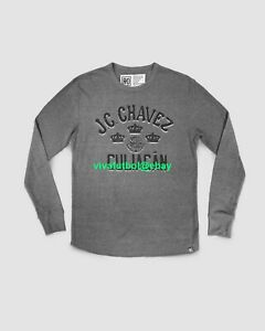 Roots of Fight Mens Julio Cesar Chavez Culiacan Thermal Triblend Shirt LARGE L