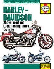 Haynes HARLEY DAVIDSON FL FLH FLHS FLT FLH Owners Workshop Manual Handbook Book