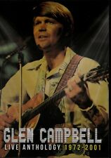 Glen Campbell Live Anthology 1972-2001. 1 DVD & 1 CD. New