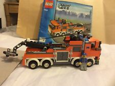 Lego City 7642 Large tow truck, complete with instructions.