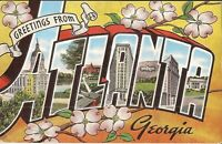 Atlanta, GEORGIA - KEYED LARGE LETTER