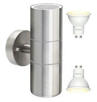 8w Stainless Steel LED Double Outdoor Wall Light IP65 Up Down LED Wall Light