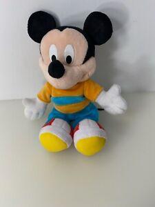 2002 Disney Mickey Mouse Plush Stuffed Doll Fisher Price