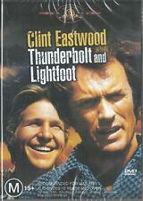 THUNDERBOLT AND LIGHTFOOT - BRIDGES & EASTWOOD - NEW R4 DVD FREE LOCAL POST