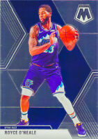 Royce O'Neale 2019-20 Panini MOSAIC BASKETBALL Chrome Base Card #53 Utah Jazz