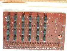 USSR Ferrite Magnetic Core Memory Programmable Telephone switchboard PCB 1980