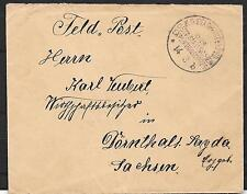 China covers 1901  Boxers Revolt Fieldpost cover to Dörnthal