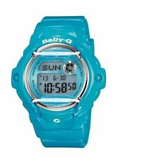 Casio Baby-G BG-169R-2B Digital Shiny Blue Resin Ladies Sport Watch
