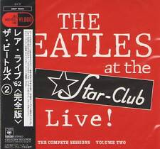 BEATLES LIVE AT THE STAR CLUB Vol.2 CD MINI LP/OBI