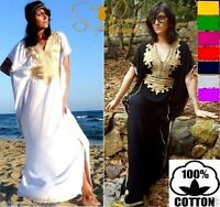 Kaftan Dress Maxi Party Moroccan Farasha Caftan Batwing Arabian summer Abaya Eid