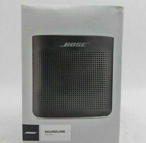 Bose Soundlink Color II - Water Resistant Speaker - Soft Black - JM0209