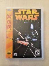 Universal Sega 32X Replacement Case - Star Wars Arcade (NO GAME!)