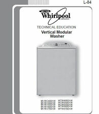 WHIRLPOOL/MAYTAG Vertical Modular Top Load Washer Service & Repair Manual