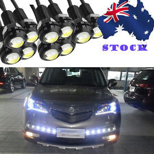10 PCS 18MM 9W LED Eagle Eye White Light Daytime Running DRL Backup Light Car