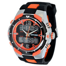 Ripcord by Trias Multifunctional watch Model series AND008-orange Dual Time 24h