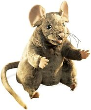 Folkmanis Brown Mouse Hand Puppet