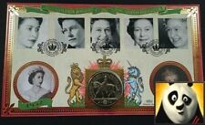 2002 Queen Elizabeth Golden Jubilee £5 Five Pound Coin First Day Cover + COA