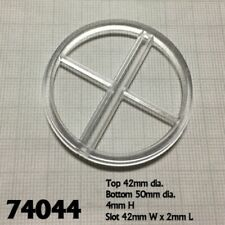 REAPER Miniatures - 74044 Socle Transparent + Support x5 (Base /Tall Flight Peg)