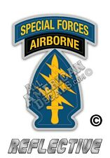 Special Forces Airborne Decal Reflective DECAL Sticker 3