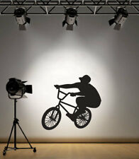 Bicicleta BMX Stunt Rider Casa Pared Calcomanía Adhesivo VE2 De Vinilo