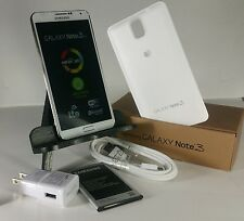 """Samsung Galaxy Note III SM-N900A-32GB- White (AT&T) """"UNLOCKED"""". *ACCEPTABLE*"""