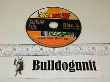 Dragonball Z Season Five DVD 5 Disc 5 Only Episodes 160-162 Funimation 2007