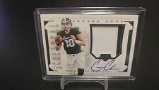 2016 Connor Cook NATIONAL TREASURES COLLEGIATE  COLOSSAL PATCH AUTO #d 31/99