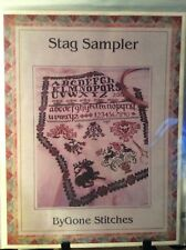 Stag Sampler Cross Stitch Chart/Pattern by Bygone Stitches