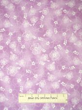 Loralie Harris Designs Hula Girls Hybiscus Floral Orchid Cotton Fabric YARD