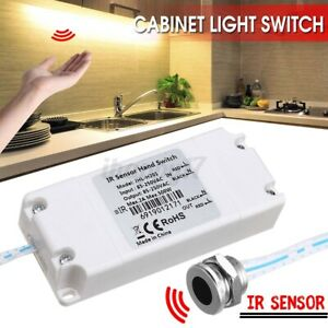 Electronic IR Motion Sensor Switch Touchless ON/OFF Kitchen Cabinet Light  f ۵