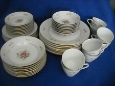 VICTORIAN ROSE china by Grant Crest (Fine China / Japan): 48 pc. dinnerware set