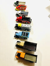 Real Nice Die Cast Vintage Truck Collection, 8 Items, Pre Owned, No Boxes