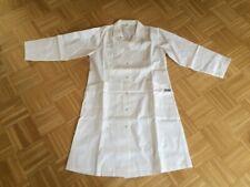 Damen Laborkittel Gr. 42 weiß lange Ärmel - 35 % Baumwolle + 65 Polyester - NEU