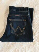 Wrangler Q-Baby No Gap Waistband Stretch Denim Jeans Women's Size 9/10 (32x32)