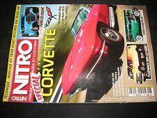 ** Revue Nitro n°247 Chevrolet Corvette Stingray 1976 / Corvette Mans 2010