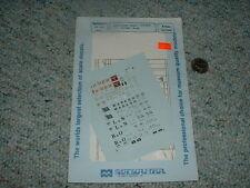 Microscale Decals N 60-434 Airslide Hoppers LN BO Burlington M and StL  C99
