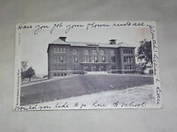 VINTAGE 1905 NORMAL SCHOOL FITCHBURG MASS  POSTCARD