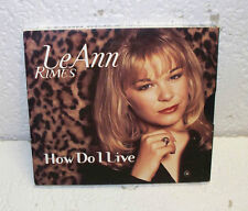 LeAnn Rimes How Do I Live Dance Mix CD Single RARE