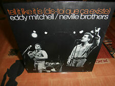 """eddy mitchell/neville brothers""""""""single7"""".polydor:879384.7.pol102-fr.or de 1991."""