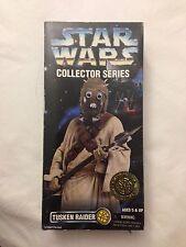 """Star Wars 12"""" Collector TUSKEN RAIDER Blaster Rifle Tatooine Sand People NIB"""