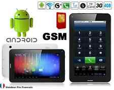 "Tablette PC TACTILE 3G 7"" Pouces Android GPS GSM Phablet Smartphone HD 4 GO"