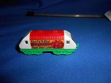 CHRISTMAS XMAS NEW YEAR 2000 TRAIN Locomotive ENGINE Plastic Kinder Egg N Scale
