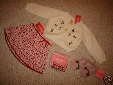 GG520-3 NWT 12-18 Gymboree Cherry Pie Girls Sweater Lot